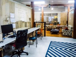No9 co-working space in Auckland